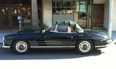 mercedes 300sl, 1956. in this condition, starting at about half a mil.