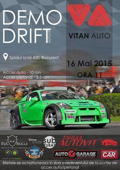 Pe data de 16 mai, in Bucuresti, vor avea loc demonstratii de drift! Car Garage, Le Mans, Photo And Video, Carriage House