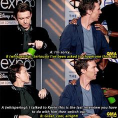 It's so funny how they all decided (probably cause of Mackey) to hate on Tom and make fun of his age and stuff during interviees