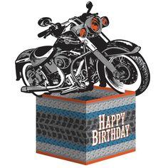 """Tafelaufsatz """"Motorbike"""""""