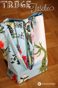 easy tote bag tutorial | sewing