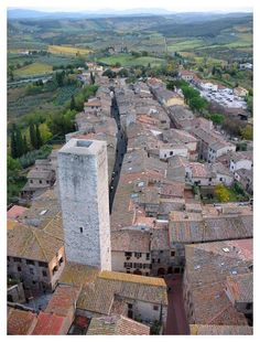 San Gimignano, Italy...this city has amazing towers that we climbed....fun city in Tuscany.