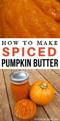 Easy Homemade Pumpkin Butter Recipe (Canned or Fresh Pumpkin!) - This pumpkin butter made with all the spices of your favorite pumpkin pie is full of fresh grown sq - Pumpkin Jam, Pumpkin Butter, Apple Butter, Pumpkin Spice, Spiced Pumpkin, Pumpkin Pie Jam Recipe, Pumpkin Puree, Pumpkin Jelly, Jelly Recipes