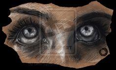 Serie Eyes #4 by Lilith-Symphony.deviantart.com on @deviantART