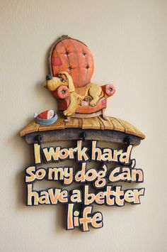 Wood Carving - Psí život ...  Řezbářství Hejkalíci - Tomáš Hejhal Better Life, Lol, Creative Things, Crafts, Home Decor, Laughing So Hard, Homemade Home Decor, Manualidades, Interior Design