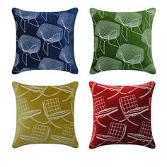 Coming soon, embroidered velvet cushion covers