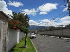 A residential area in Quito, Ecuador.
