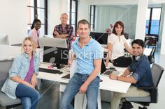 Modern Business Team Royalty Free Stock Photo