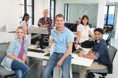 Modern Business Team Royalty Free Stock Photo