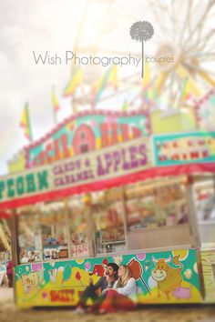 Wish Photography: Gillian and Bryson {Utah Engagement Photographer} At the Fair