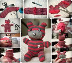 DIY Cute Little Teddy Bear