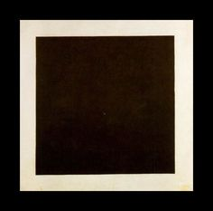 [Kazimir Malevič] Quadrato nero suprematista, 1915 - Partì tutto da Malevich. E da quella tela nera che spalancò nuovi orizzonti, divenendo in breve tempo la quintessenza del minimalismo. Nata quasi per caso in un momento di trance mistica, l'opera è tra le più riconoscibili dell'avanguardia russa.