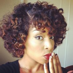 ❤ the hair...bantu knot out