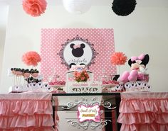 Minnie Mouse Birthday Party Ideas | Photo 16 of 26 | Catch My Party