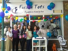 Very honoured to be invited to open the new Fiesta Tots store in Horsham