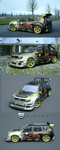 Dacia Duster Tuning Monster