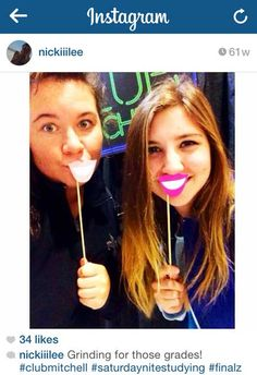 How cute is this? #photoboothfun We love that our patrons tag themselves at the Library and #ClubMitchell on #Instagram