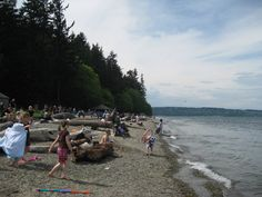 Best Beaches in Tacoma Washington