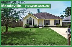 Mandeville, Louisiana Real Estate $100,000 - $200,000 St Tammany Homes, Patio Homes, Condos, Townhouses, and more, Wayne Turner, Turner Real Estate Group