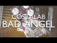 CostaLab Bad Angel OD An overdrive with open, defined and a dynamic sound but also with a powerful distortion that reaches high levels of saturation, while maintaining an excellent definition and a timbre with a lot of character.