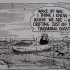 The Waikato and Taranaki District Health Boards have declared of the North Island's West Coast as unsafe for the collection of shellfish. West Coast, Oil, Cartoon, Cartoons, Comics And Cartoons, Butter