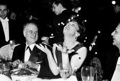 Les plus belles #photos des #archives de @ParisMatch_magazine #1963. L'actrice Italienne Gina #Lollobrigida est à #Paris pour passer le réveillon chez Maxim's en compagnie du réalisateur Jean Delannoy . Au moment des 12 coups de minuit Gina pour fêter la nouvelle année lance des cotillons . Photo : Philippe le Tellier/#ParisMatch. by parismatch_vintage