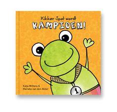 Kikker Spat | boek, hulpmiddel om overgewicht te voorkomen. voor kinderen van 2-7 jaar.