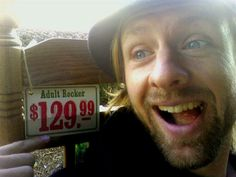 Jon Foreman, lead singer of Switchfoot.  Adult rocker... get it? haha :)