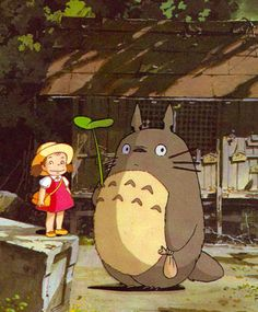 totoro- love this, still watch it, i think in my mom's storage she still has the vhs