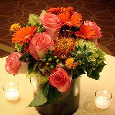 #c2mdesigns #floral #floraldesign #centerpiece #arrangement #fall #protea #roses #hydrangea #hypericum #orchids #cymbidium #gerbers #style #texture #sheratonboston #corporateevent #nxtevent #boston #designsthatrock #likeC2MdesignsFacebook Designer: #christinemccaffery