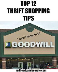 Best Goodwill Tips
