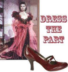 Scarlett O' shiny shoe