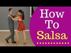 Ultimate guide on how to Salsa dance for beginners. We'll teach you 2 basic Salsa steps and how to combine them together. To get 5 free dance lessons from ou. Salsa Dancing Steps, Salsa Dance, Alvin Ailey, Tap Dance, Latin Dance, Irish Dance, Dance Wear, Ballroom Dance Dresses, Ballroom Dancing