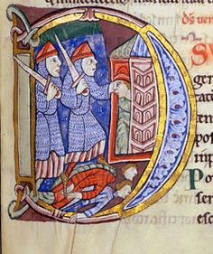 St. Albans Psalter - English between 1120 and 1145