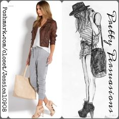 Heather Gray Paneled Track Pants Heather Gray Paneled Track Pants   Size: Large  Measurements available upon request   Feeling like adding some sporty style to your life? This Paneled Track Pant is comfortable yet refined for an off-duty look, but can easily be dressed up with pointed-toe pumps.  Also available in black size Large  Bundle discounts available  No pp or trades Boutique Pants Track Pants & Joggers