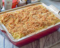 Bestmors skinke og blomkålgrateng - nostalgi og glede! | Gladkokken Swedish Recipes, Lasagna, Macaroni And Cheese, Nostalgia, Food And Drink, Pasta, Dessert, Baking, Healthy