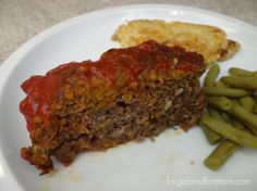 5 ingredient Meatloaf and you will be surprised what 2 of them are!