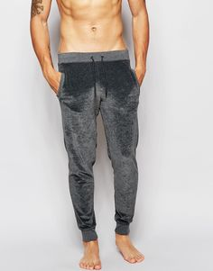 ASOS Loungewear Skinny Joggers in Velour