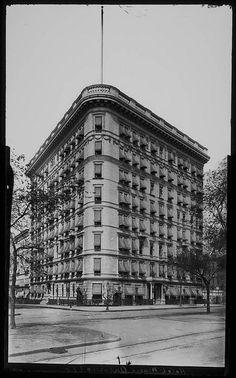 Hotel Marie Antoinette, ca. 1905 #Photo #NYC