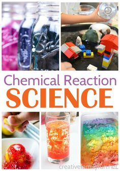 Chemical Reaction Science Experiments for Kids - Creative Family Fun