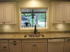 painter kitchen cabinets best granite to tie together oak cabinets and white 1391