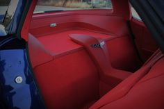 1979 Corvette custom interior.