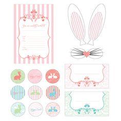 FREE Vintage Easter  Printables  #FREE #Easter #Printable
