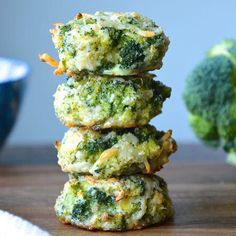 Baked Broccoli Nuggets!