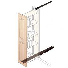 Pantry Slides - Rockler Woodworking Tools