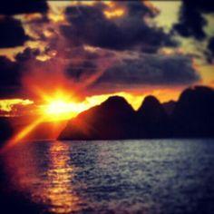 Sunset at Mawi | Lombok