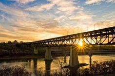 Edmonton High Level Bridge    Edmonton Alberta Canada