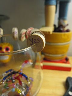 DIY Wine Glass Charms for Stemmed and Stemless Glasses. Make your own wine glass charms!
