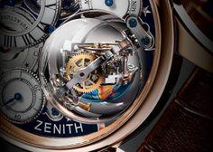 Zenith Academy Christophe Colombe Hurricane Grand Voyage Gyrotroubillon