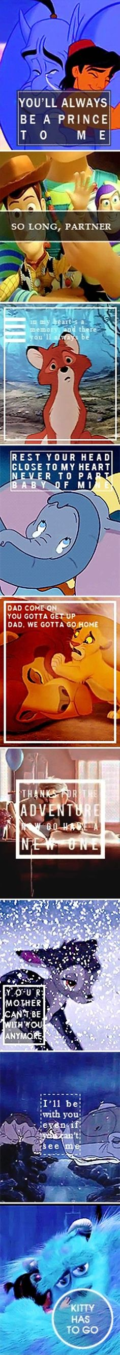 Heartbreaking Disney lines.